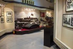 Wnętrze muzeum narodowe Wietnamska historia Obrazy Stock