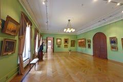 Wnętrze muzeum sztuki w Yaroslavl. Rosja Obrazy Stock