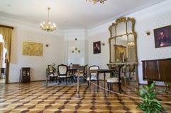 Wnętrze Nekrasov muzeum Zdjęcie Royalty Free