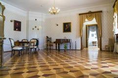 Wnętrze Nekrasov muzeum Obrazy Stock