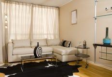 wnętrze nowoczesne mieszkania Obraz Royalty Free