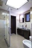 wnętrze nowoczesne toalety Fotografia Stock