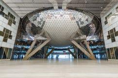 Wnętrze nowy budynek w Skolkovo Technopark Zdjęcie Royalty Free
