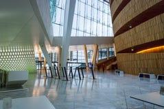 Wnętrze Oslo opera, Norwegia Zdjęcia Stock