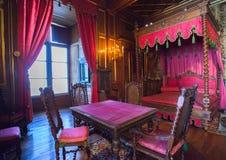 Wnętrze Pau kasztel, Francja (górska chata de Pau) Zdjęcie Stock