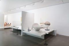 Wnętrze pinakoteka Dera Moderne Obrazy Royalty Free