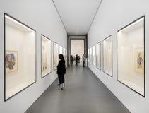 Wnętrze pinakoteka Dera Moderne Zdjęcia Stock