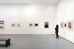 Wnętrze pinakoteka Dera Moderne Fotografia Stock