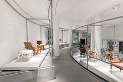 Wnętrze pinakoteka Dera Moderne Zdjęcia Royalty Free