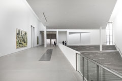 Wnętrze pinakoteka Dera Moderne Zdjęcie Stock