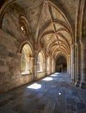 Wnętrze przyklasztorny katedry Se Evora Portugalia Zdjęcia Royalty Free