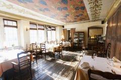 Wnętrze pusta restauracja Fotografia Royalty Free