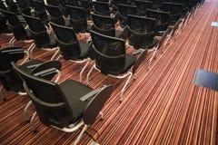 Wnętrze pusta sala konferencyjna Obraz Stock