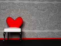 wnętrze romantyczny zdjęcie royalty free