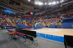Wnętrze sport arena Megasport, Moskwa, Rosja Obrazy Royalty Free