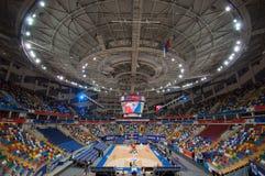 Wnętrze sport arena Megasport, Moskwa, Rosja Fotografia Royalty Free