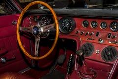 Wnętrze sporta samochód Maserati Ghibli AM115 Campana, 1968 Obrazy Royalty Free