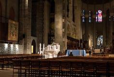 Wnętrze St. John boska katedra w Nowy Jork Fotografia Royalty Free