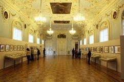 Wnętrze stanu erem w St Petersburg Zdjęcie Stock
