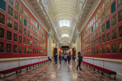 Wnętrze stanu erem w St Petersburg, Rosja Zdjęcie Stock