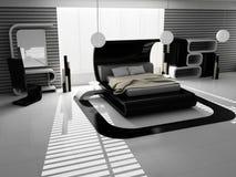 wnętrze sypialni Obrazy Stock