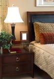 wnętrze sypialni Zdjęcia Royalty Free