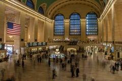 Wnętrze Uroczysta centrali stacja - Nowy Jork, usa Obraz Stock