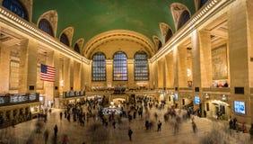 Wnętrze Uroczysta centrali stacja - Nowy Jork, usa Obrazy Royalty Free