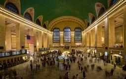 Wnętrze Uroczysta centrali stacja - Nowy Jork, usa Zdjęcie Stock