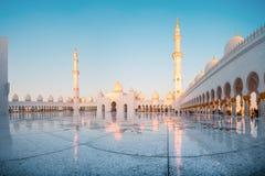 Wnętrze Uroczysty meczet Fotografia Royalty Free