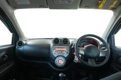 Wnętrze w eco samochodzie Obrazy Royalty Free