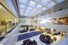 Wnętrze w lobby prezydent hotel Obraz Royalty Free