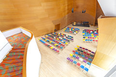 Wnętrze Walt Disney filharmonia Fotografia Stock