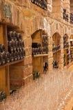 Wnętrze wino loch Obraz Stock