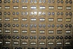 Wnętrze Zachodni dziedzictwa centrum, muzeum Stary zachód, fakturowania, MT Fotografia Stock