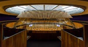 Wnętrze zgromadzenie narodowe dla Walia E Zdjęcie Stock