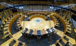 Wnętrze zgromadzenie narodowe dla Walia F Zdjęcie Royalty Free