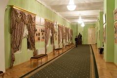 Wnętrze zielony foyer przy Moskwa konserwatorium Zdjęcia Royalty Free