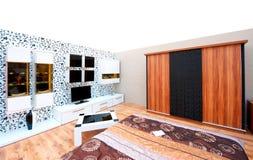 Wnętrzy projekta stojaki i domowa architektura Fotografia Stock