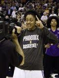 WNBA菲尼斯水星胜利 图库摄影