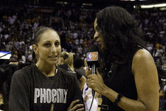 WNBA菲尼斯水星胜利 库存照片