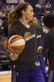 WNBA菲尼斯水星胜利 免版税图库摄影