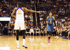 WNBA Phoenix Mercury Beats Minnesota Lynx Stock Photography