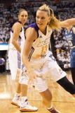 WNBA Phoenix Mercury Win Round One av finaler Arkivfoto