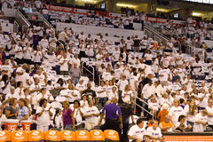 WNBA Phoenix Mercury Win Round One dos finais Imagem de Stock