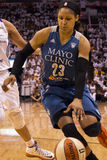 WNBA Phoenix Mercury Win Round One dos finais Fotos de Stock Royalty Free
