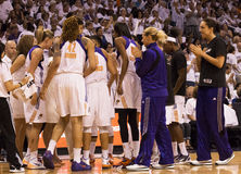 WNBA Phoenix Mercury Win Round One of Finals Stock Photography