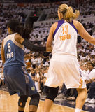 WNBA Phoenix Mercury Win Round One of Finals Royalty Free Stock Photography