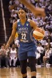 WNBA Phoenix Mercury Win Round One van Def. stock foto's
