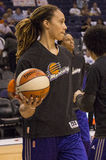 WNBA Phoenix Mercury Wins. The WNBA Phoenix Mercury win game two 97-68 of the 2014 WNBA Finals. Brittney Griner was the high scorer for the Mercury with 19 Royalty Free Stock Photography